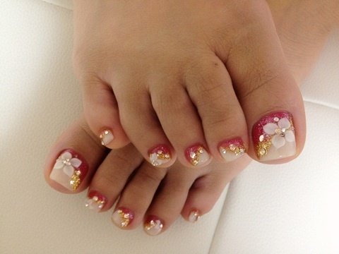 Manicure Amp Pedicure Nail Art Design Pictures Wehotflash