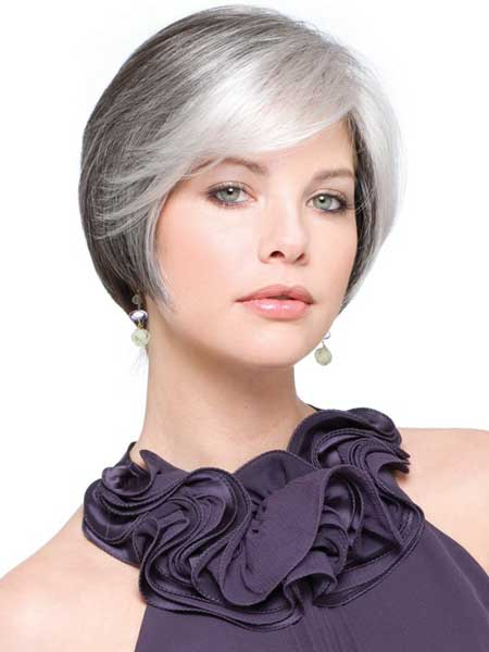 Looking for an updated Hairdo for your gray hair?
