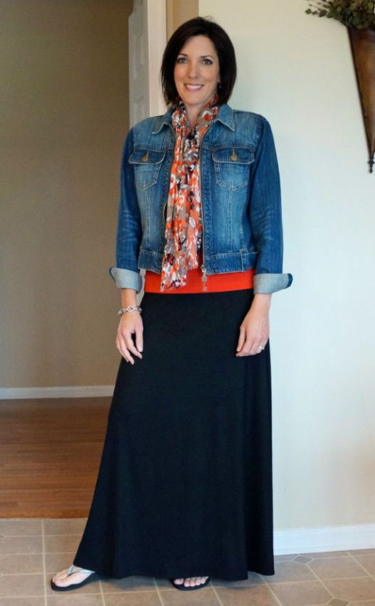 What to wear with your MAXI SKIRT
