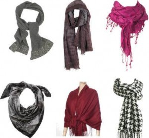 DIFFERENT WAYS TO TIE YOUR SCARF!