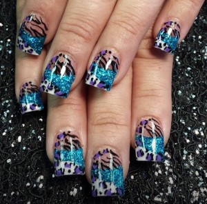 trendy nail art manicure deigns