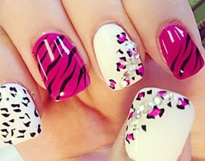 trendy nail art manicure designs