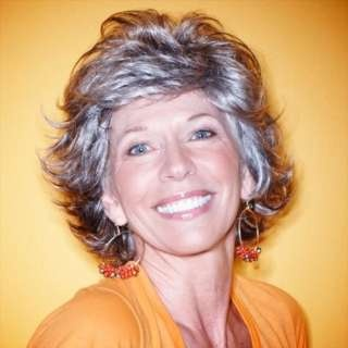 MORE TRENDY GRAY HAIR STYLES FOR WOMEN OVER 50 - WEHOTFLASH