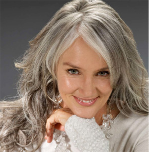 Beautiful Long Gray Hair Style Pictures Wehotflash