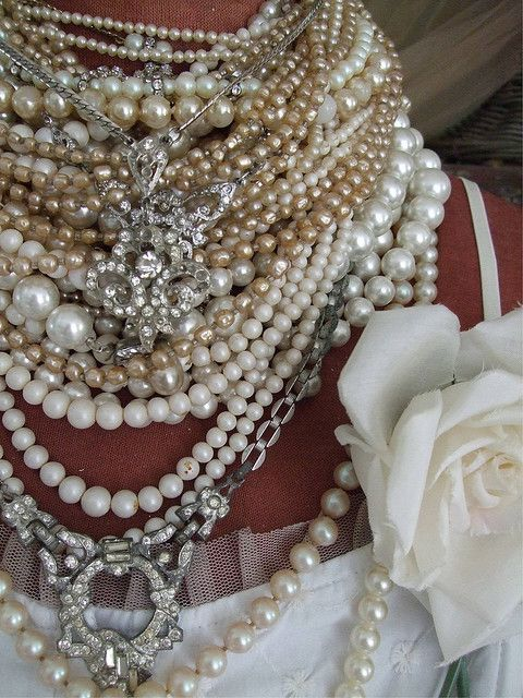 Chunky Pearl Necklace Trend Wehotflash