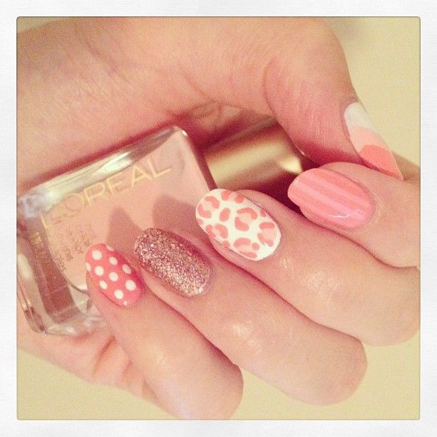 Think pink for spring nail art designs wehotflash nail art designs for a trendy new you prinsesfo Gallery