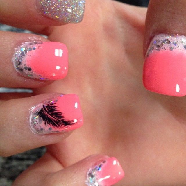 THINK PINK for SPRING Nail Art Designs - WEHOTFLASH