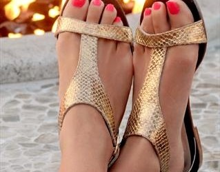 gold sandals a summer must