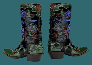 colorful western boots hot trend