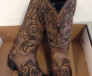 inlay western boots