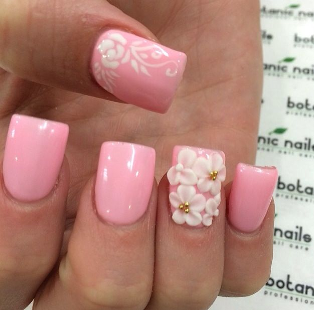 Hottest nail designs 2014 gallery nail art and nail design ideas pink nail art manicure designs wehotflash pink manicure nail art design prinsesfo gallery prinsesfo Images