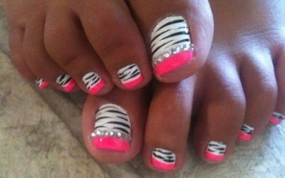 trendy summer pedicure designs