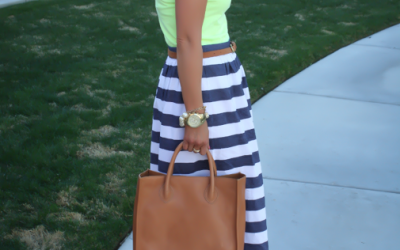 The STRIPE MAXI SKIRT FRIEND or FOE?