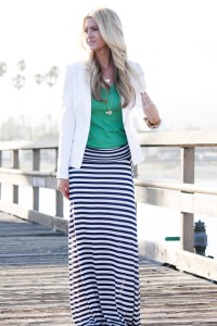 strIPE MAXI skIRT FRIEND or FOE?