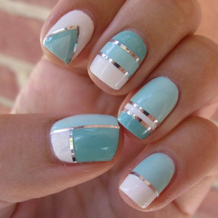 Nail designs archives wehotflash blue nail polish manicure designs prinsesfo Images