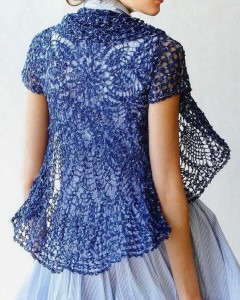 Over 50? Try a Flattering Crochet Top