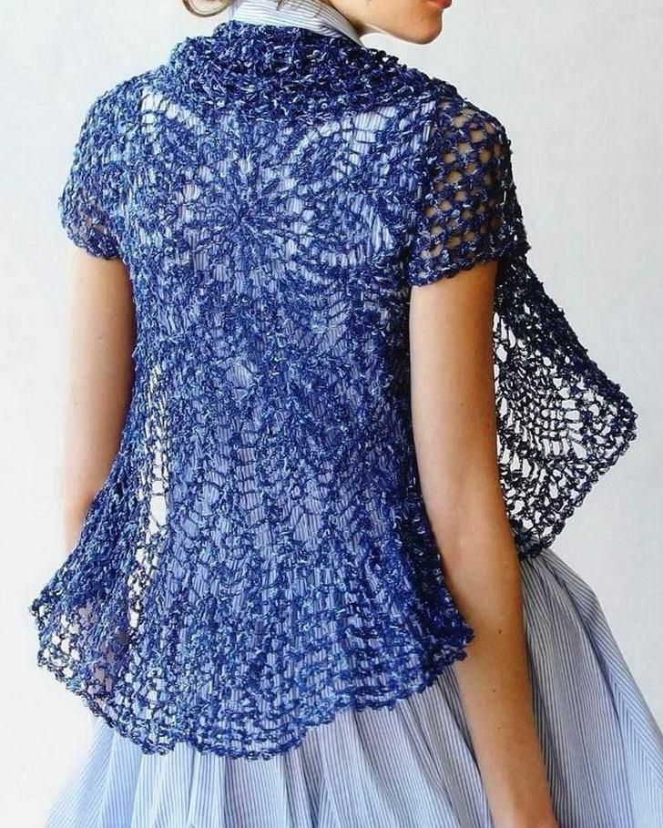 Over 50? Try a Flattering CROCHET TOP - WEHOTFLASH