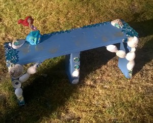 """make this easy """"create a memory"""" bench"""