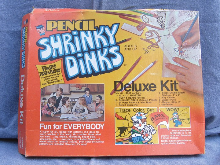 Do You Remember Shrinky Dinks In The 1970 S
